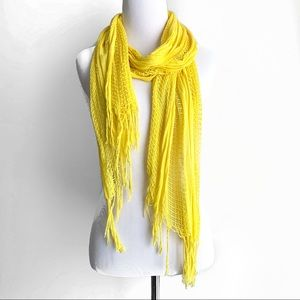 Accessories - Bright Yellow Lightweight Scarf